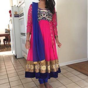Dresses & Skirts - NEW indian anarkali dress, salwar kameez